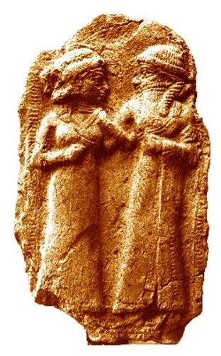 Свадьба Инанны и Думузи. Фото: Public Domain