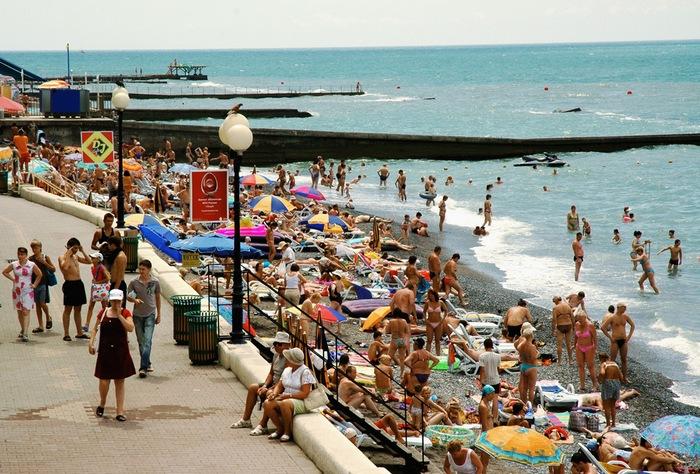 Отдых в Сочи. Фото: Игорь Якунин /commons.wikimedia.org/ CC-BY-SA 3.0