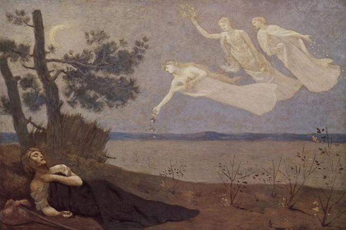 «Сон». Картина Пьер-Сесиль Пуви де Шаванна, 1883 г. Фото: Public Domain