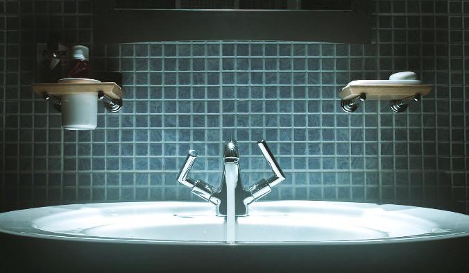 ванна, раковина, мытье рук