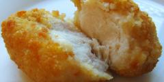Из чего состоят куриные наггетсы?