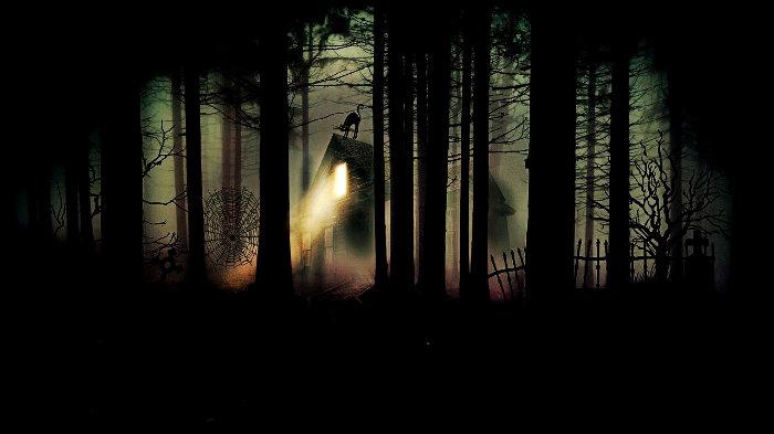 лес, дом, страх