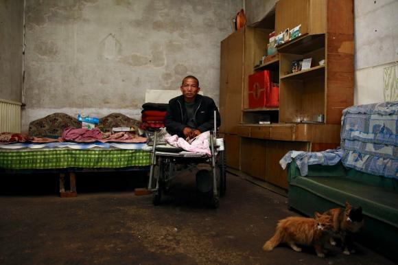 Чжэн Яньлян в своём доме. Фото: via Netease