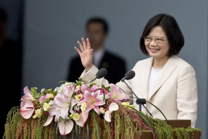 Президент Тайваня Цай Ивэнь. Фото: Ashley Pon/Getty Images