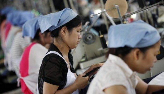 Китайская рабочая сила теряет свою привлекательность из-за низкой эффективности