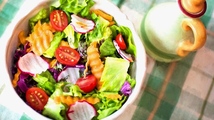 салат, диета, овощи