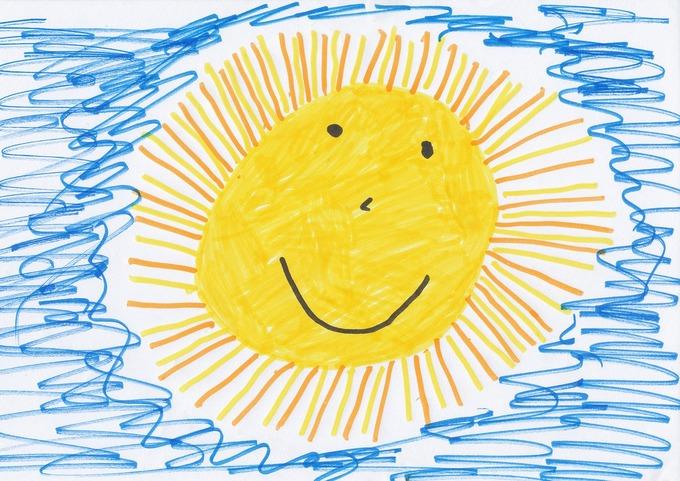 Детский рисунок. Фото: pixabay.com/CC0 Public Domain