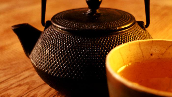 чай, напиток, катехин