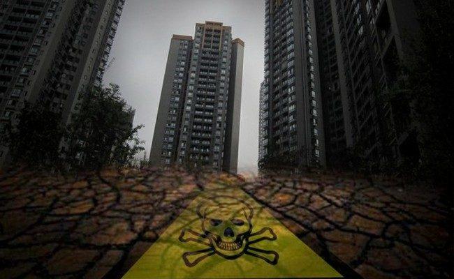 В Китае находится около 500 тысяч загрязнённых районов