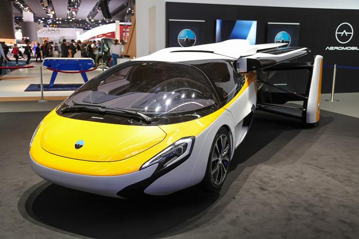 Один из основателей Google тайно потратил $100 миллионов на летающие автомобили