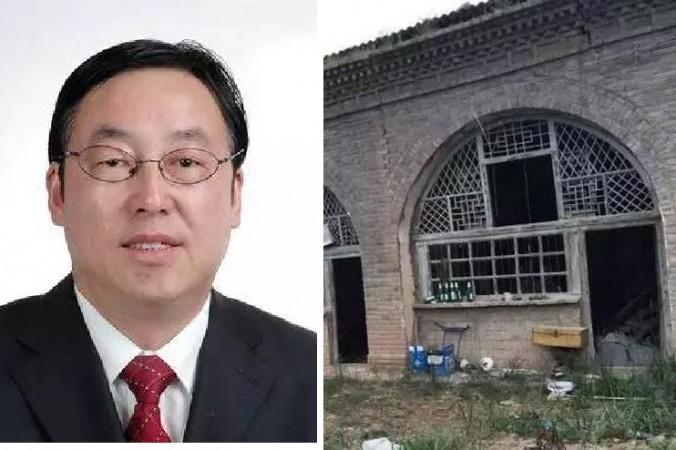 Бедное жилище Ли в его родном городе. Фото: via Xinhua