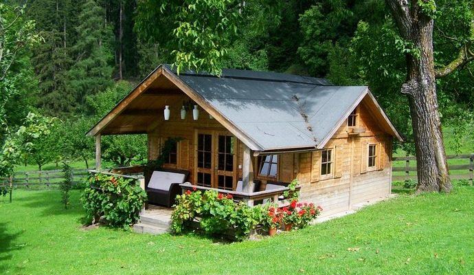 Строим финский домик