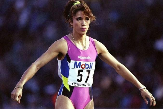 Чемпионка мира по лёгкой атлетике  россиянка Иоланда Чен, 1993 год. Фото: Mike Cooper/Allsport/Getty Images