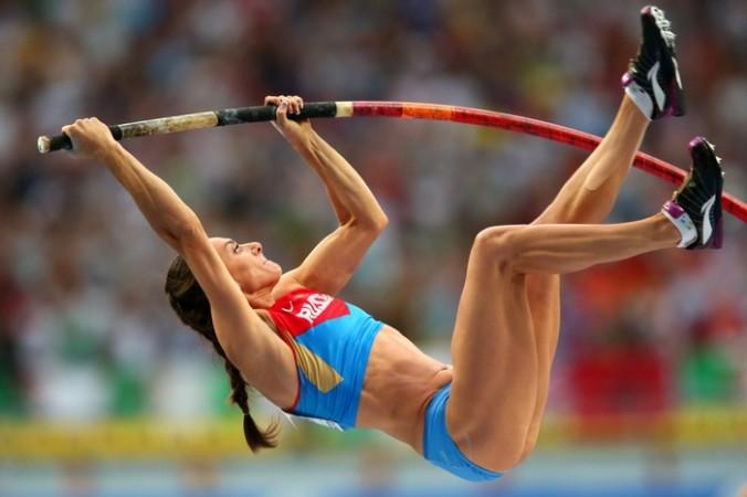 Елена Исинбаева. Фото: Julian Finney/Getty Images