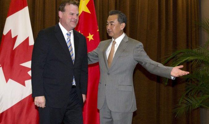 Китайский министр иностранных дел вышел из себя из-за вопроса журналистки