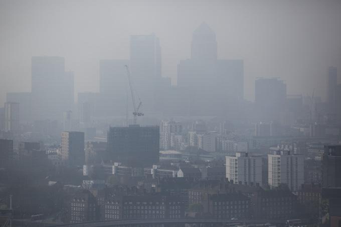 Смог над Лондоном. Фото: Dan Kitwood/Getty Images