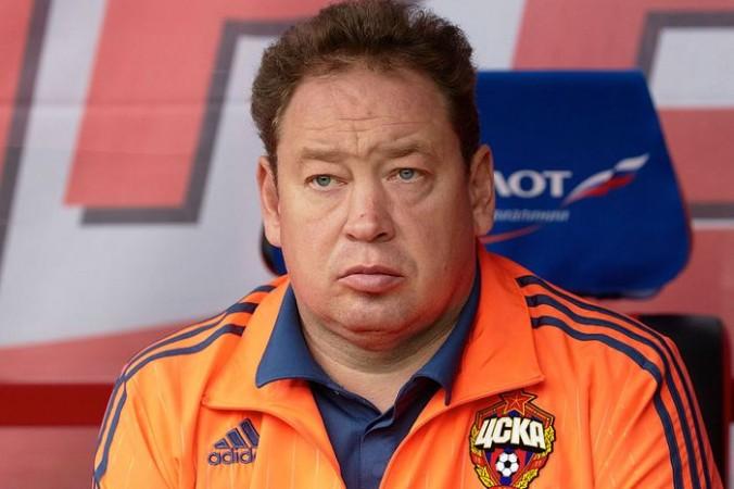 Главный тренер сборной РФ по футболу Леонид Слуцкий. Фото: Epsilon/Getty Images