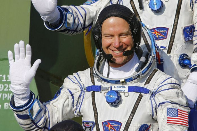 Астронавт НАСА Тимоти Копра. Фото: SHAMIL ZHUMATOV/AFP/Getty Images