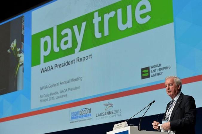 Президент WADA  Крейг Риди. Фото: Mark Runnacles/Getty Images