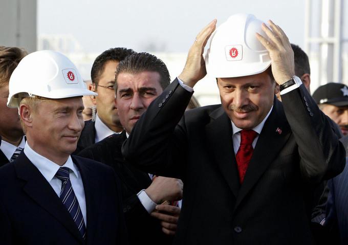 Проект «Турецкий поток» был приостановлен из-за непонимания сторон. Фото: KERIM OKTEN/AFP/Getty Images