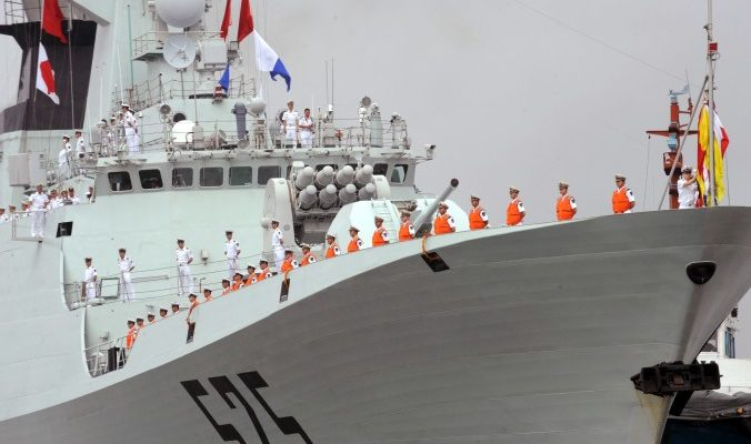 Китай отправил военные корабли в Танзанию