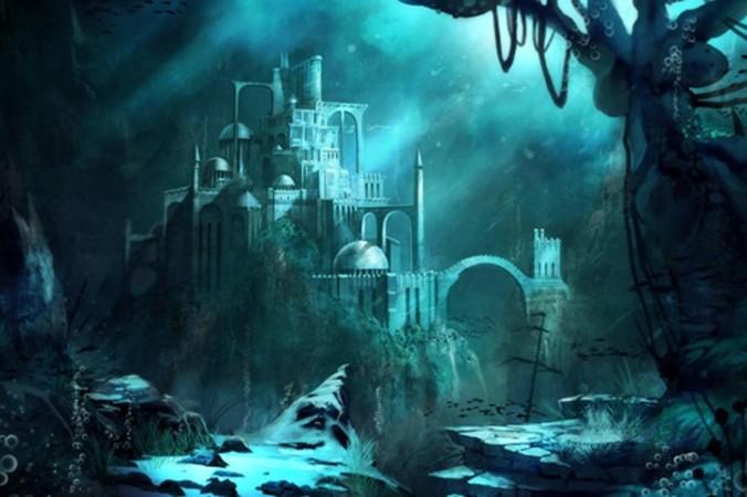 Подводный замок. Фото: Wallpaperswide.com