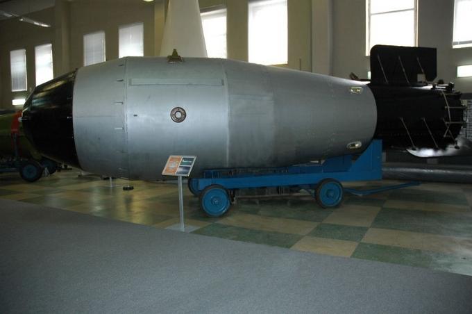 Модель «Царь-бомбы» АН602 в музее ядерного оружия. Фото: wikimedia.org/public domain