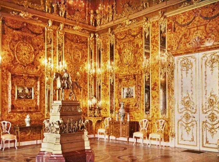 Янтарная комната. Фото: А. А.Зеест/commons.wikimedia.org/public domain