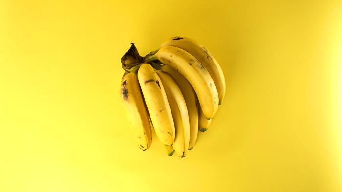 банан, триптофан, калий