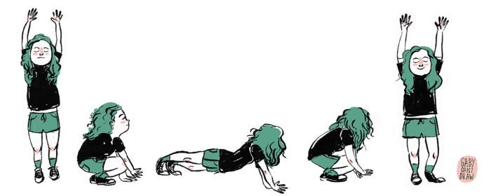 бурпи, тренировка