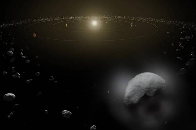По мнению учёных, в ближайшее время астероиды не угрожают человечеству. Фото: NASA
