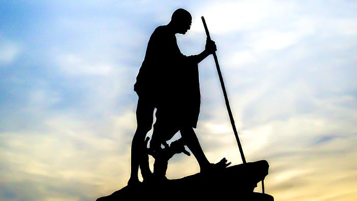 памятник, Махатма, Ганди
