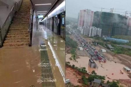 Наводнения в Китае. Июнь 2016 года. Фото: epochtimes.com