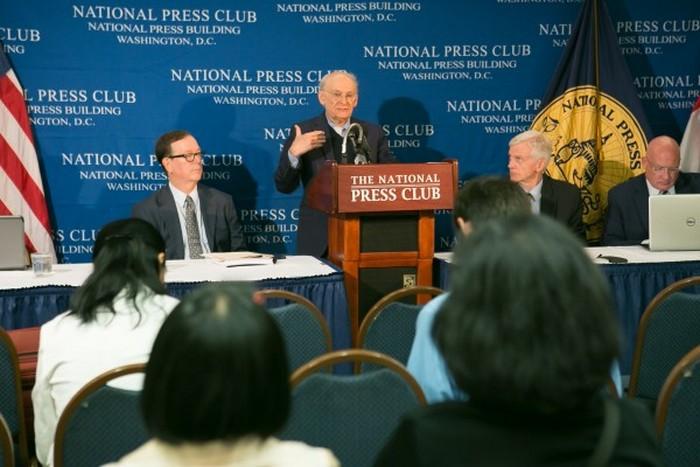 Пресс-конференция, посвящённая новому отчёту о чёрной трансплантологии в Китае. Вашингтон, США. Июнь 2016 года. Фото: The Epoch Times