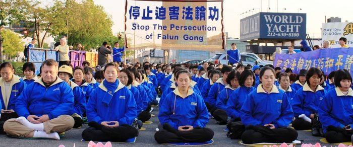 В апреле более 800 сторонников Фалуньгун подверглись арестам в Китае