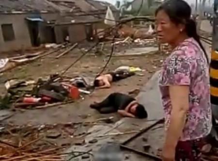 После торнадо с градом. Провинция Цзянсу. Июнь 2016 года. Фото: epochtimes.com
