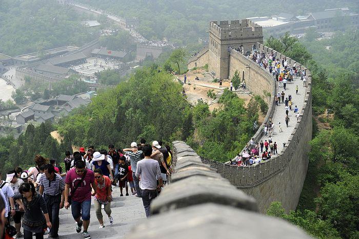Великая китайская стена. Фото: LIU JIN/AFP/Getty Images