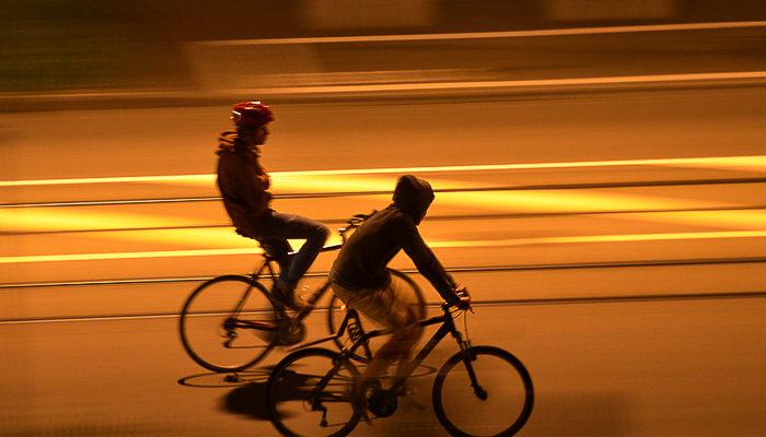 В центре Москвы сегодня стартует ночной велопарад