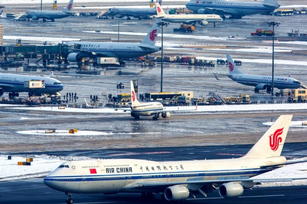 Пекинский аэропорт Шоу-ду. Фото: VCG