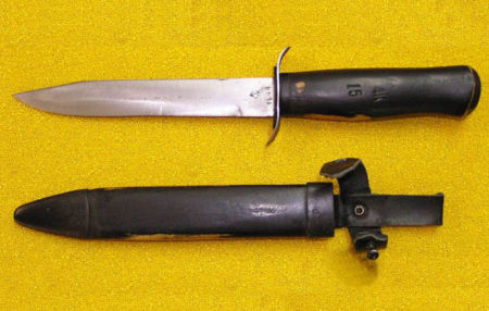 Армейский нож НР 40, 1944 г. Фото: Оружейная правда/russianguns.ru