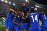 Победа сборной Франции в матче с Германией на Евро-2016, Франция, 7 июля. Фото: Matthias Hangst/Getty Images