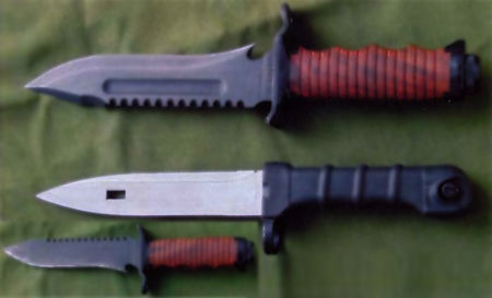 Ножи «Катран-1» Фото: Игорь Скрылёв/army-news.ru/dogswar.ru