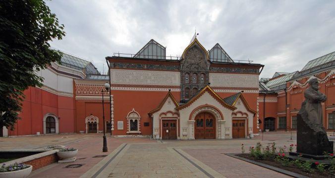 Третьяковская галерея. Фото:  A.Savin/en.wikipedia.org/CC BY-SA 3.0