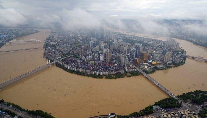 Южный Китай уходит под воду. Фото