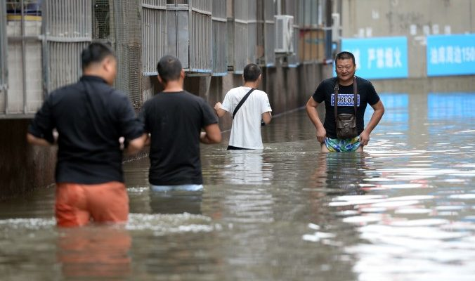 Наводнение в Пекине не затронуло 600-летний Запретный город