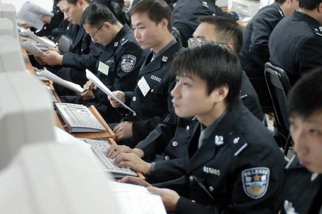 Китайская интернет-полиция. Фото: epochtimes.com