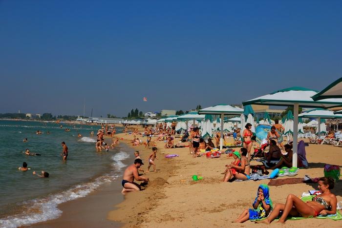 «Золотой пляж» в Феодосии (Крым). Фото: Александр Kaasik/en.wikipedia.org/wiki/CC BY-SA 4.0