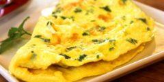 Омлет — французское блюдо на русской кухне