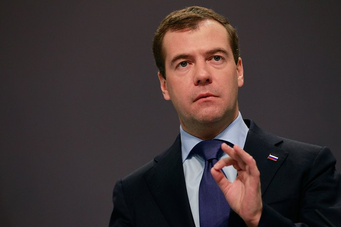 Премьер-министр РФ Дмитрий Медведев. Фото: Sean Gallup/Getty Images