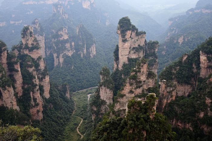 Национальный парк Чжанцзяцзе. Фото: Lintao Zhang/Getty Images